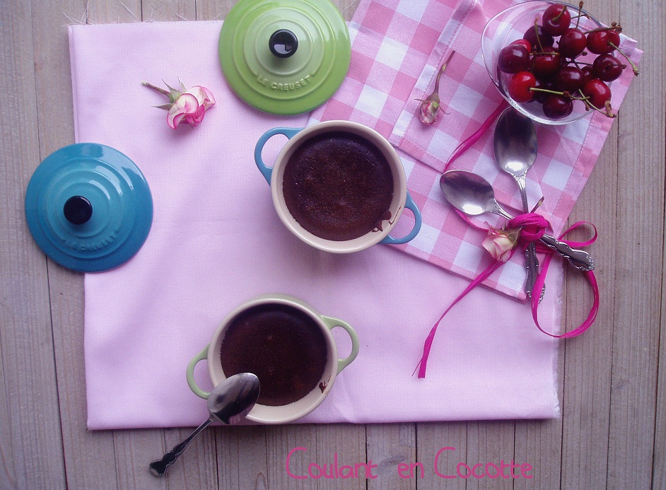 Receta coulant de chocolate