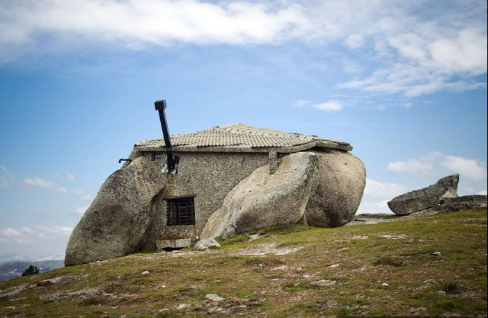 Casa de Piedra en Portugal