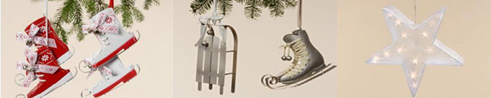 Objetos de decoración para el Árbol de Navidad