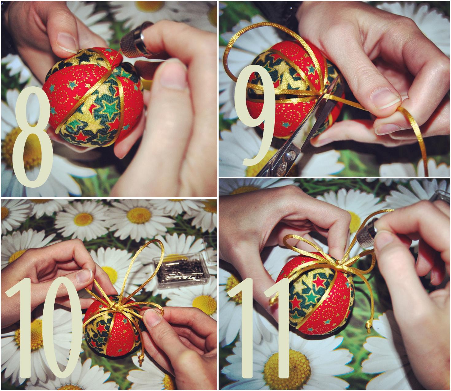 Bolas de Navidad Patcwork