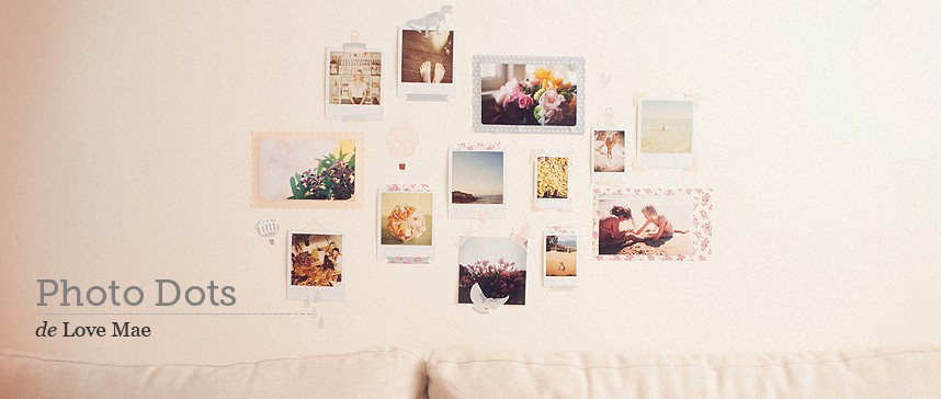 Wallsticker Photo Dots