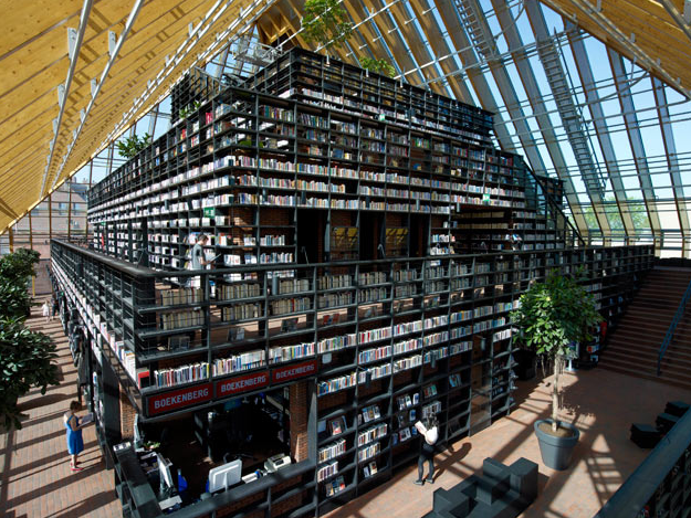 Book Mountain designed by MVRDV