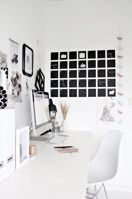 The perfect idea to decorate your work space