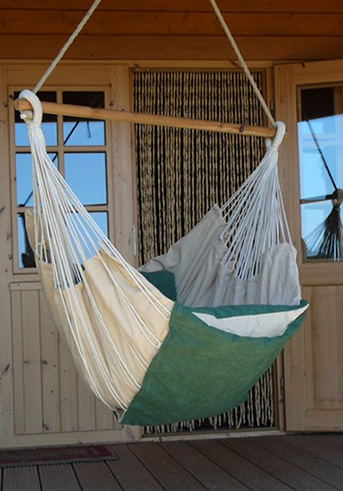 Hamaca Cotton Colgante ahora en Ottoyanna a un precio irresistible