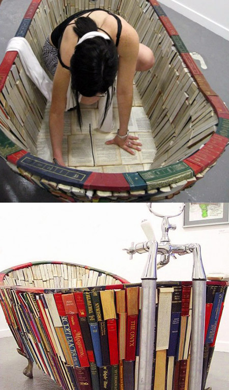 10 most creative furniture made and inspired by books