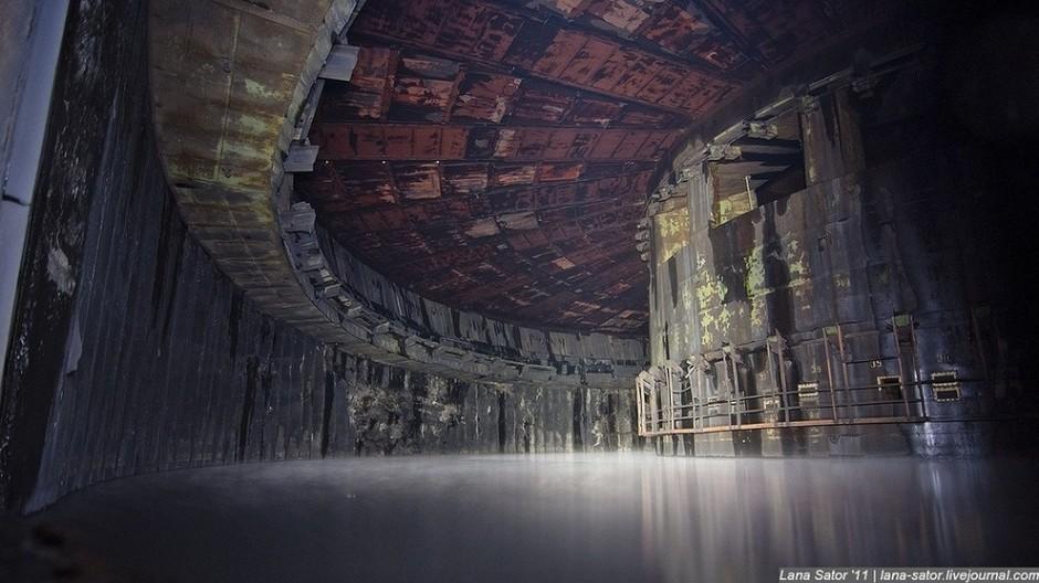 fabrica de cohetes militares rusa abandonada