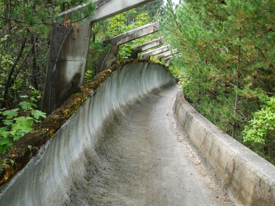 restos infraestructura de los juegos olímpicos de invierno de sarajevo