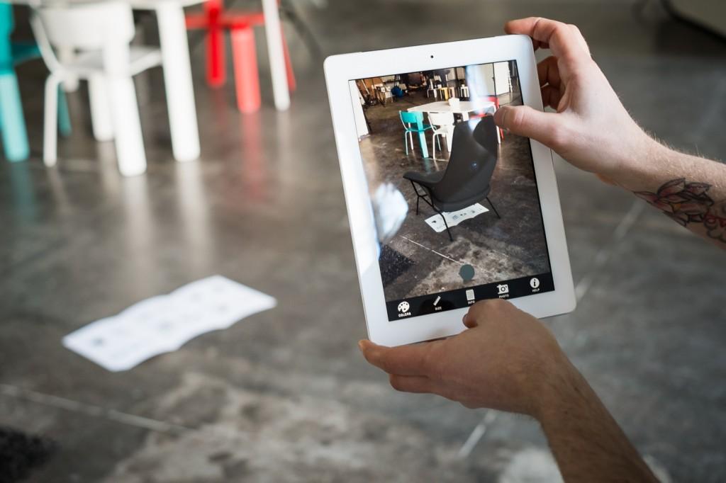 Aplicación de realidad aumentada de One Nordic, desarrollada por Sayduck.