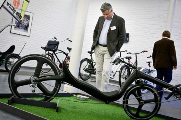 Exposición Dutch Bike, una de las actividades organizadas por Holanda