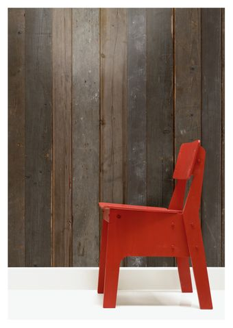 Scrapwood wallpaper by Piet Hein Eek