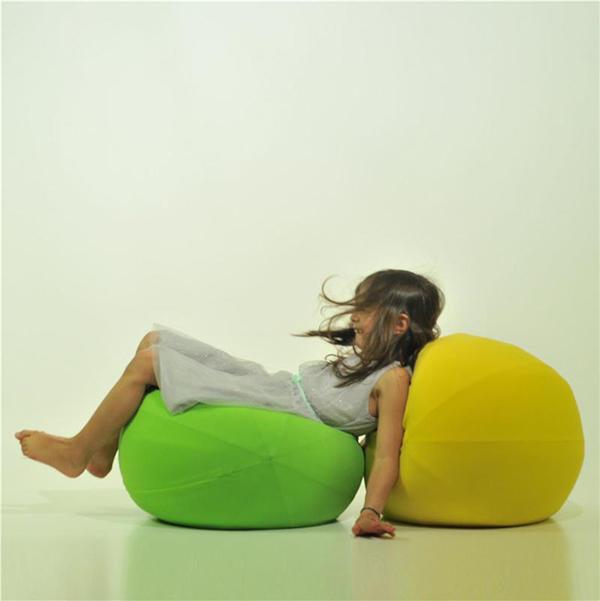 Puff Baloon con forma de globo