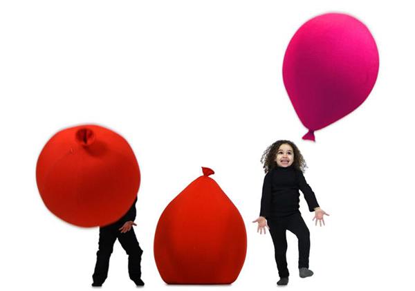 Puffs Baloon con forma de globo